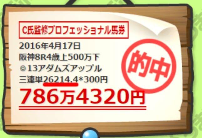 うまラボ 倍率 26214.4倍