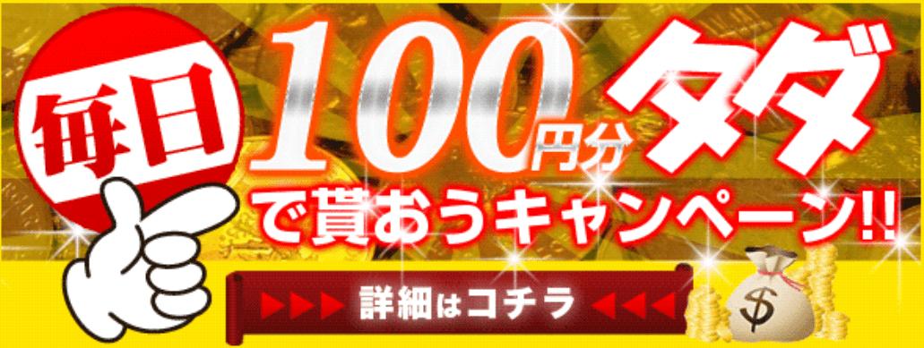 100円分のポイント