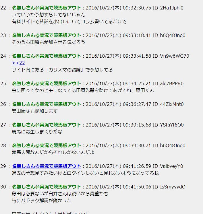 白井最強と藤田伸二が如何わしい競馬予想サイトを立ち上げた件
