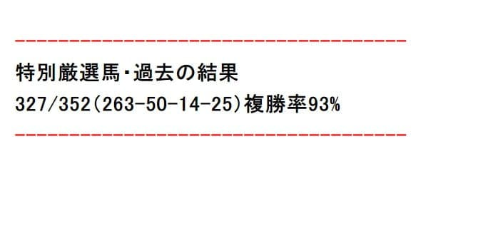 複勝率93%