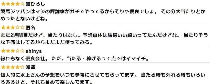 競馬JPANA 口コミ 評判