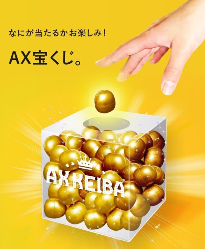 AXKEIBA(AX競馬) 特典 競馬
