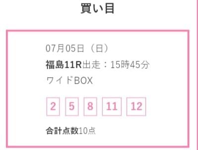 競馬予想サイト LAP競馬(ラップ競馬) 予想 2020年7月5日福島11R