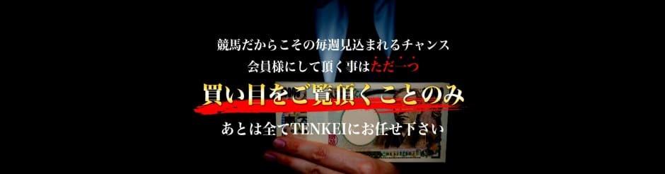 競馬予想サイトtenkeiの評価