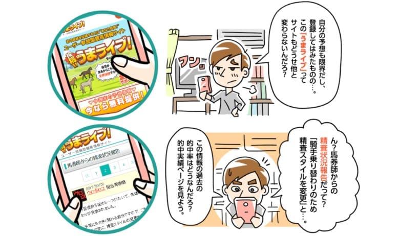 うまライブ アプリ